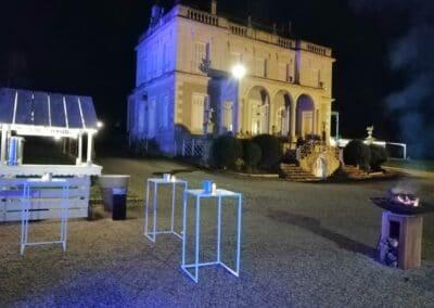 SOIREE ANNUELLE d'un service financier - privatisation d'un lieu d'exception - Challenger Event Poitiers
