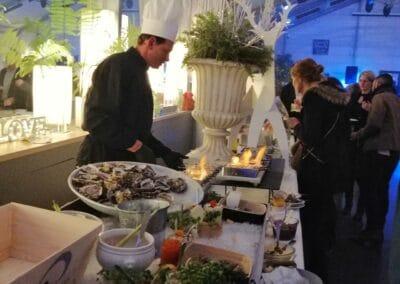 SOIREE ANNUELLE d'un service financier - traiteur haut de gamme et déco intérieure - Challenger Event Poitiers