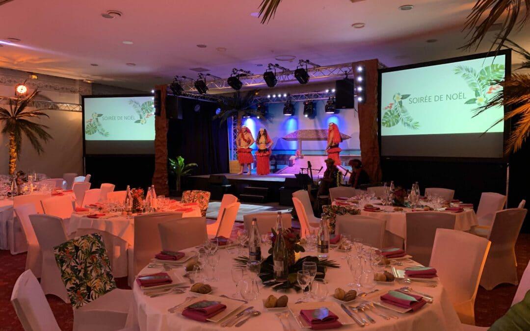 Organisation d'une soirée de gala polynésienne