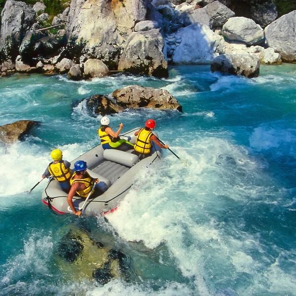 activité rafting idéal pour un team building